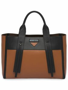 Prada Ouverture large tote - Brown