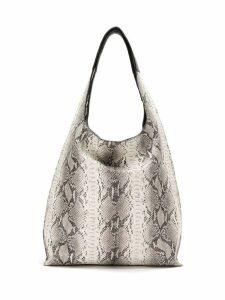 Mara Mac leather shoulder bag - Neutrals