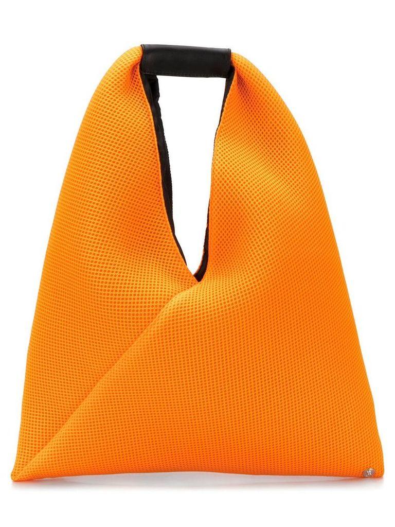 Mm6 Maison Margiela Japanese triangle tote bag - Orange