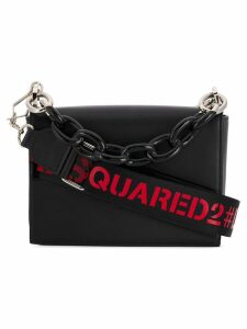 Dsquared2 cable chain tote bag - Black