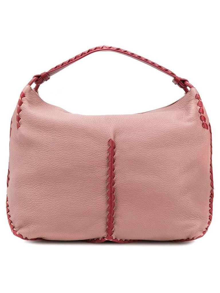 Bottega Veneta woven detail tote - Pink