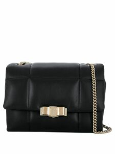 Salvatore Ferragamo quilted shoulder bag - Black