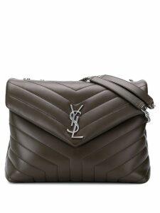 Saint Laurent large Lou Lou shoulder bag - Brown