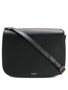 Saint Laurent logo saddle bag - Black