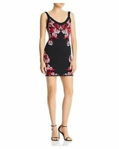 Guess Mirage Floral Body-Con Dress