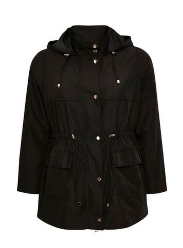 Black Lightweight Coat, Black