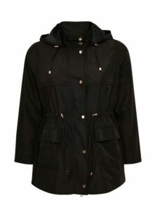 Black Lightweight Coat, Black