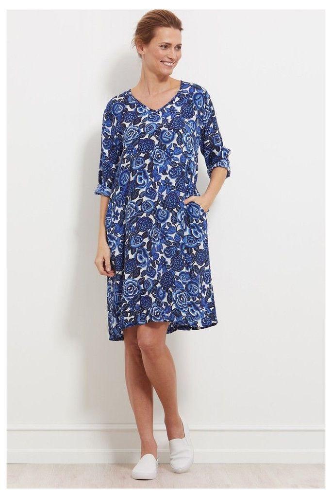Womens Masai Blue Naoki Dress -  Blue