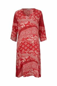 Womens Masai Red Nada Dress -  Red