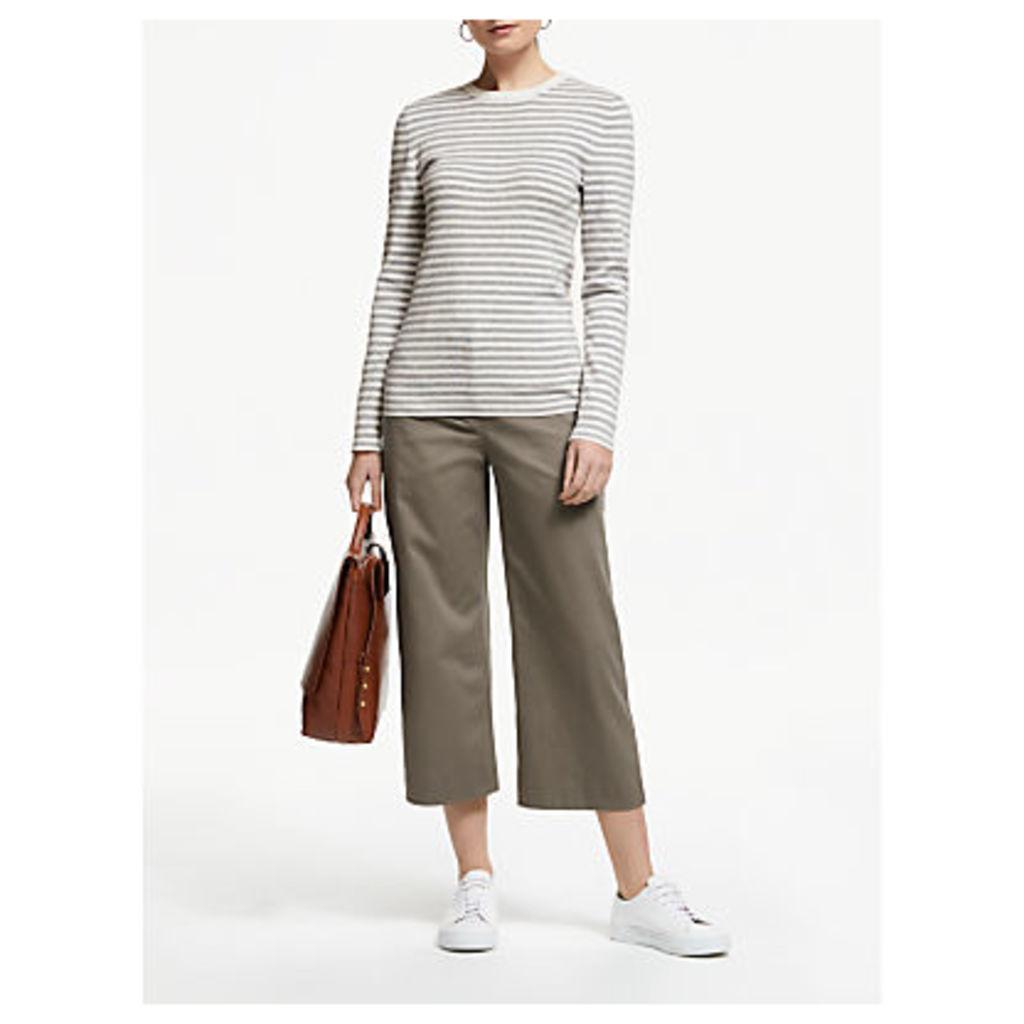 John Lewis & Partners Stripe Crew Neck Sweater