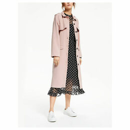Y.A.S Cuban Trench Coat, Pink