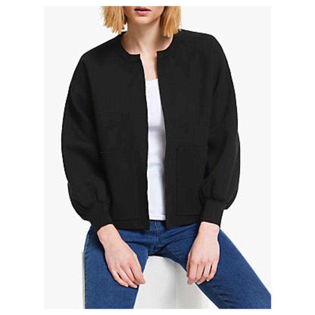 John Lewis & Partners Edge to Edge Knitted Jacket