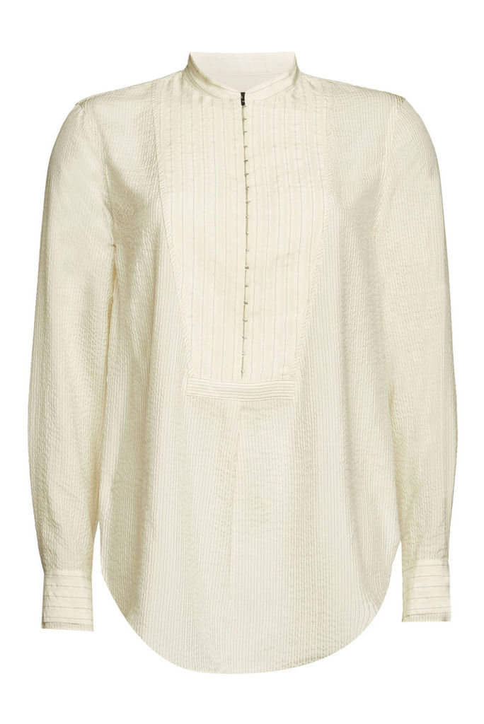 Rag & Bone Alfie Striped Silk Shirt