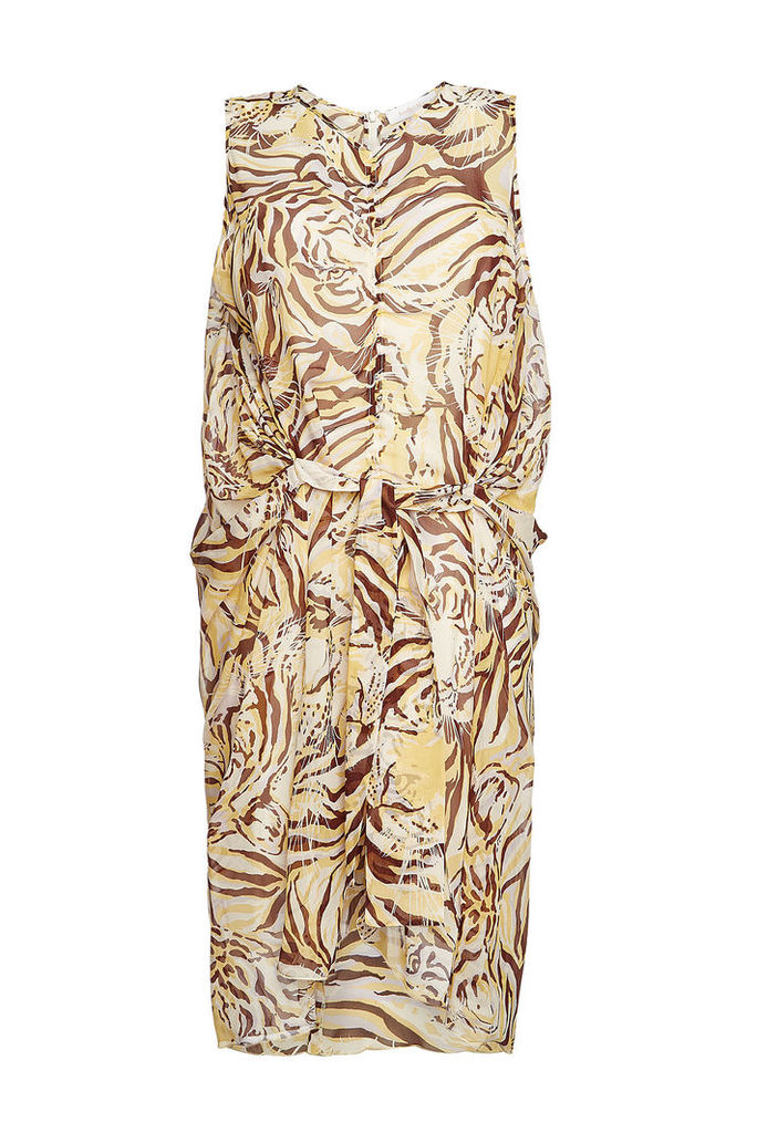 See by Chlo © Silk Tiger Print Dress