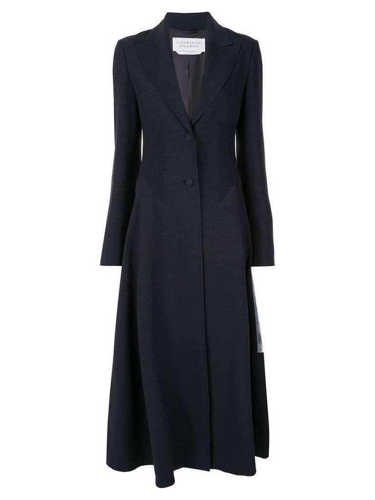 Gabriela Hearst Alfonso coat - Blue