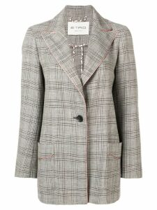 Etro plaid blazer - Neutrals