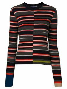 Enföld striped jumper - Grey