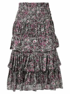 Isabel Marant Nouk ruffled skirt - Black