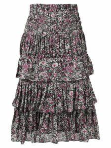 Isabel Marant Nouk ruffled skirt - Black