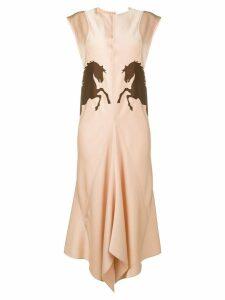 Chloé Horse dress - Pink