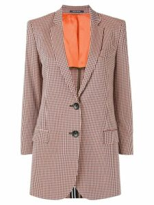 PS Paul Smith checked single-breasted blazer - Orange