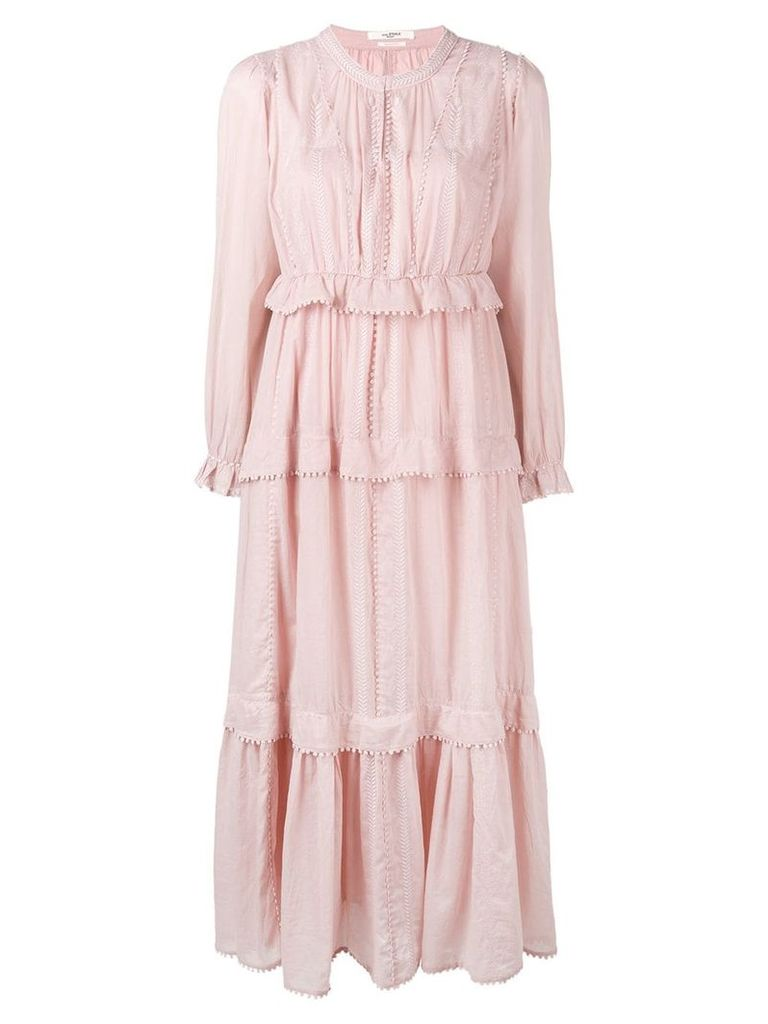 Isabel Marant Étoile Oboni tiered dress - Pink