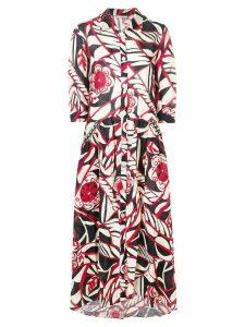 Anjuna printed maxi dress - Red