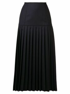 Thom Browne Corset Yoke Pleated Skirt - Blue