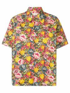 Marni floral print shirt - Yellow
