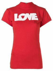 Htc Los Angeles LOVE print T-shirt - Red