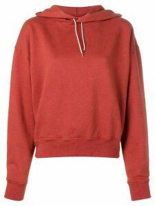 Eckhaus Latta classic brand hoodie - Red