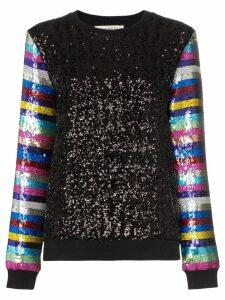 Mary Katrantzou Magpie sequin-embellished sweater - Black