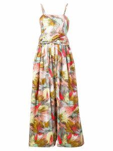 Missoni printed maxi dress - Pink