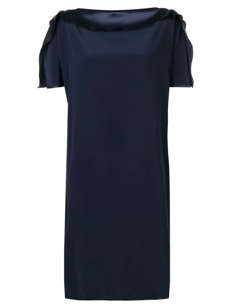 Gianluca Capannolo cocktail shift dress - Blue