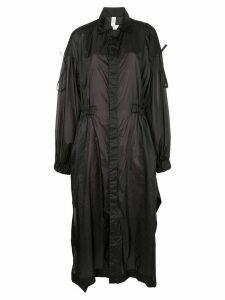 Y-3 oversized raincoat - Black