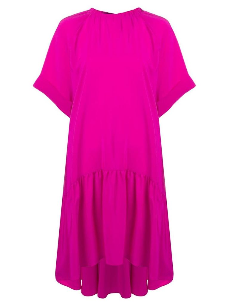 Rochas oversized fit dress - Pink
