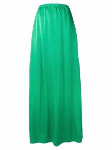 Rochas long flared skirt - Green