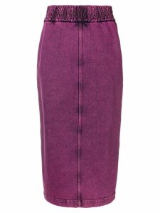 Nº21 pencil denim skirt - Pink