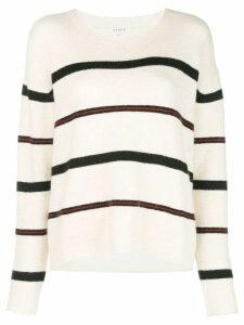 FRAME striped jumper - White