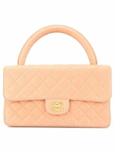 Chanel Pre-Owned Cc logos hand bag - Pink