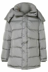 Balenciaga - Swing Oversized Padded Shell Coat - Gray