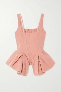 Balenciaga - Swing Oversized Padded Ripstop Coat - Black