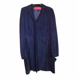 Black Suede Coat