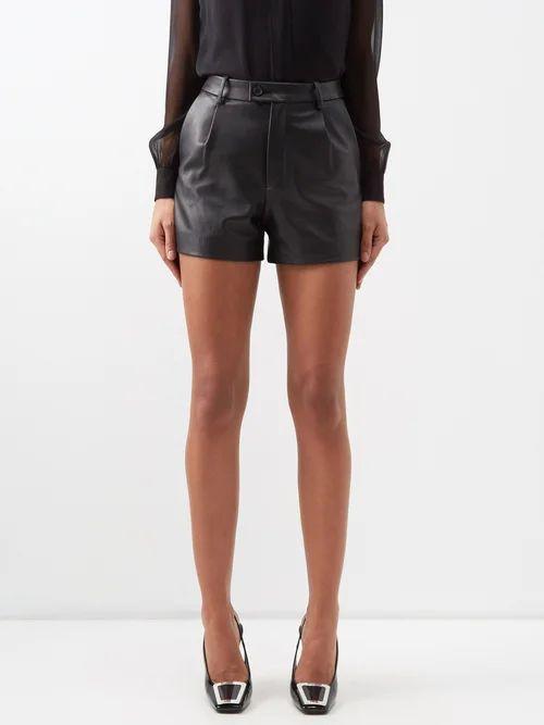 Isabel Marant Étoile - Algar Embroidered Cotton Blouse - Womens - Black