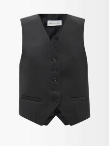 Gucci - Floral Jacquard Pleated Cotton Blend Midi Skirt - Womens - Navy Multi