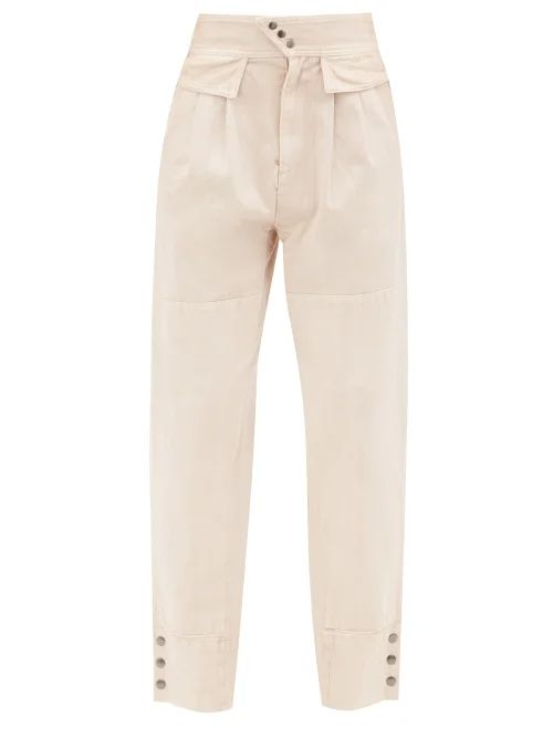 Gucci - Geometric Fil Coupé Crepe Skirt - Womens - Black Multi