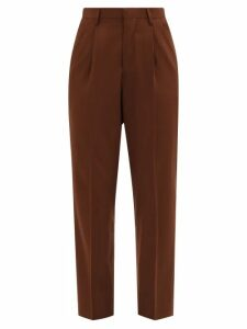 Giambattista Valli - Floral Lace And Polka Dot Tulle Gown - Womens - Black