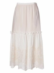 Stella McCartney Broderie Anglaise Skirt