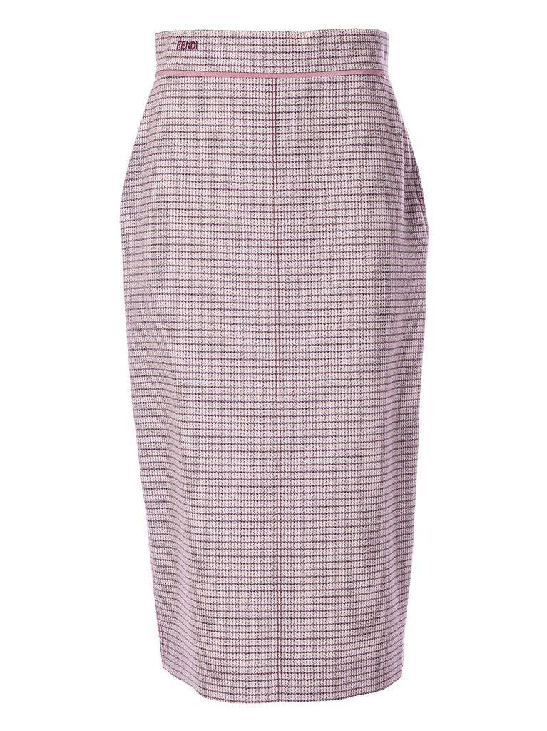 Fendi High Waisted Skirt