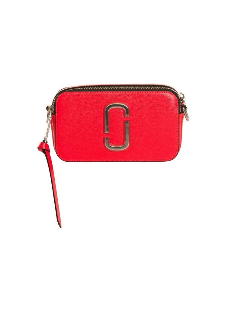 Marc Jacobs Fluorescent Snapshot Small Camera Bag In Red